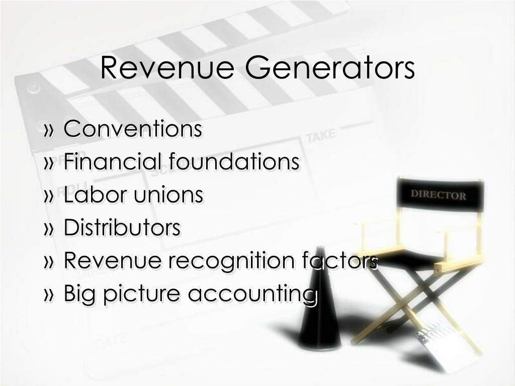 Revenue Generators