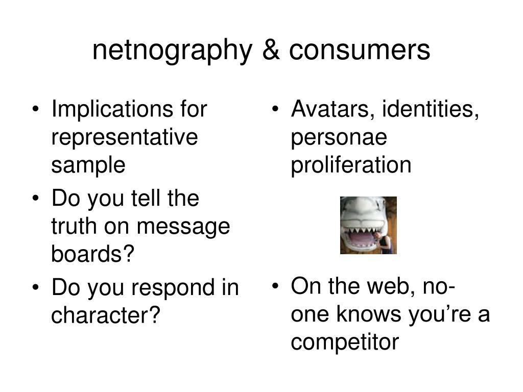 Implications for representative sample