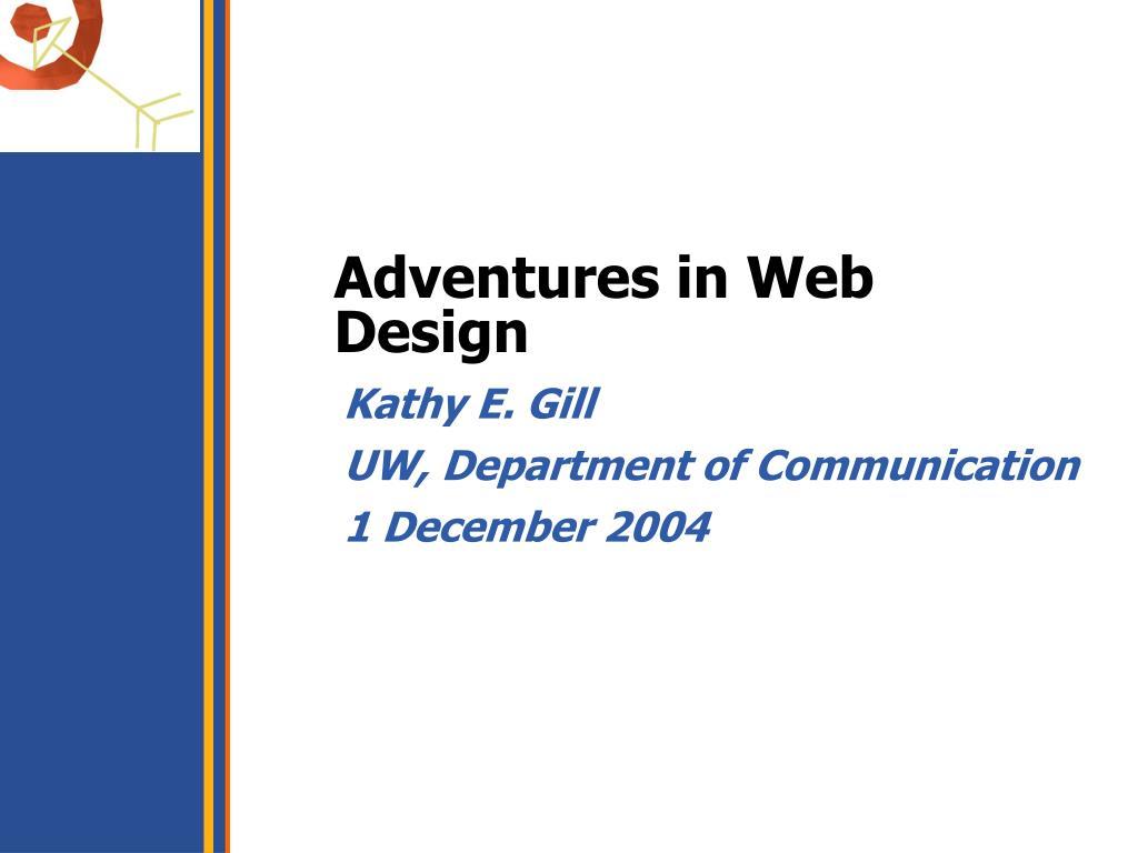 Adventures in Web Design