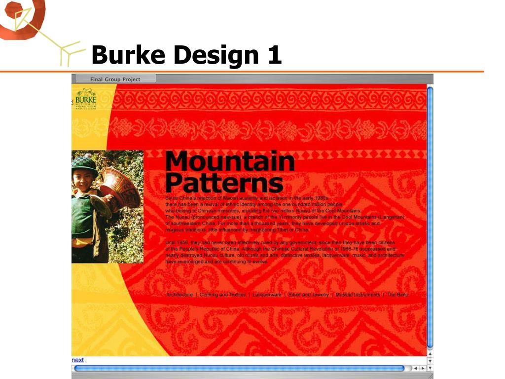 Burke Design 1
