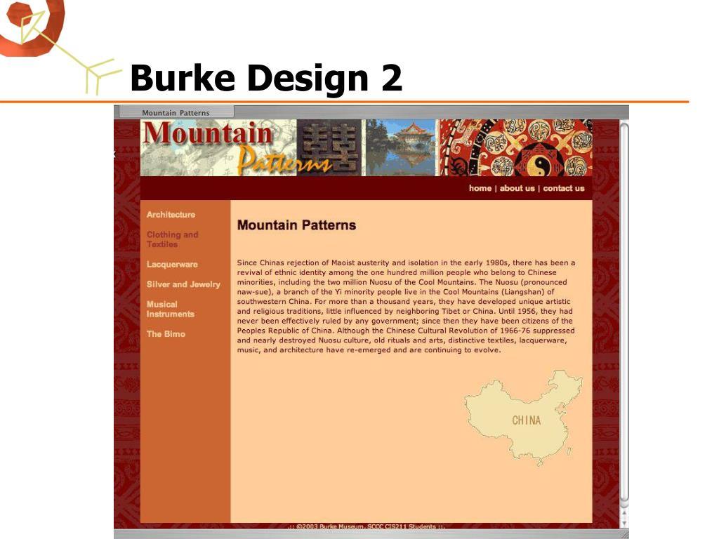 Burke Design 2