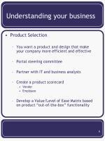 understanding your business5