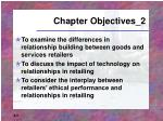 chapter objectives 2