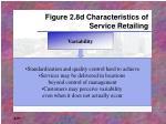 figure 2 8d characteristics of service retailing
