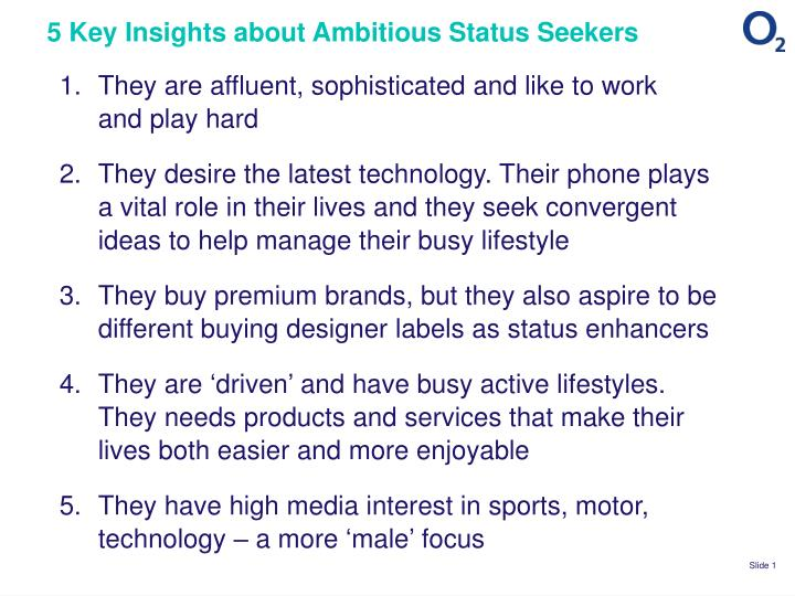 5 key insights about ambitious status seekers n.