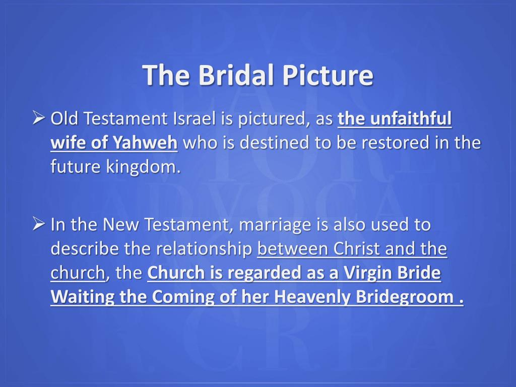 The Bridal Picture
