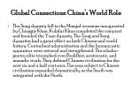 global connections china s world role