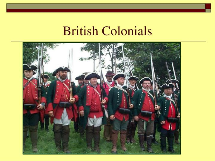 British Colonials