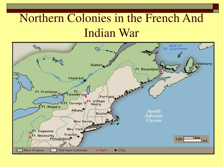 Northern Colonies in the French And Indian War