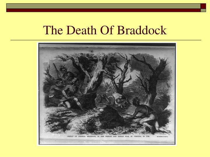 The Death Of Braddock