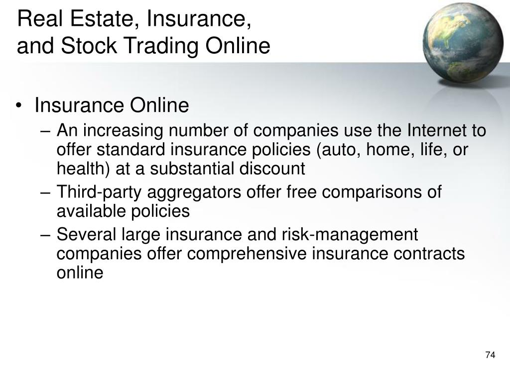 Real Estate, Insurance,