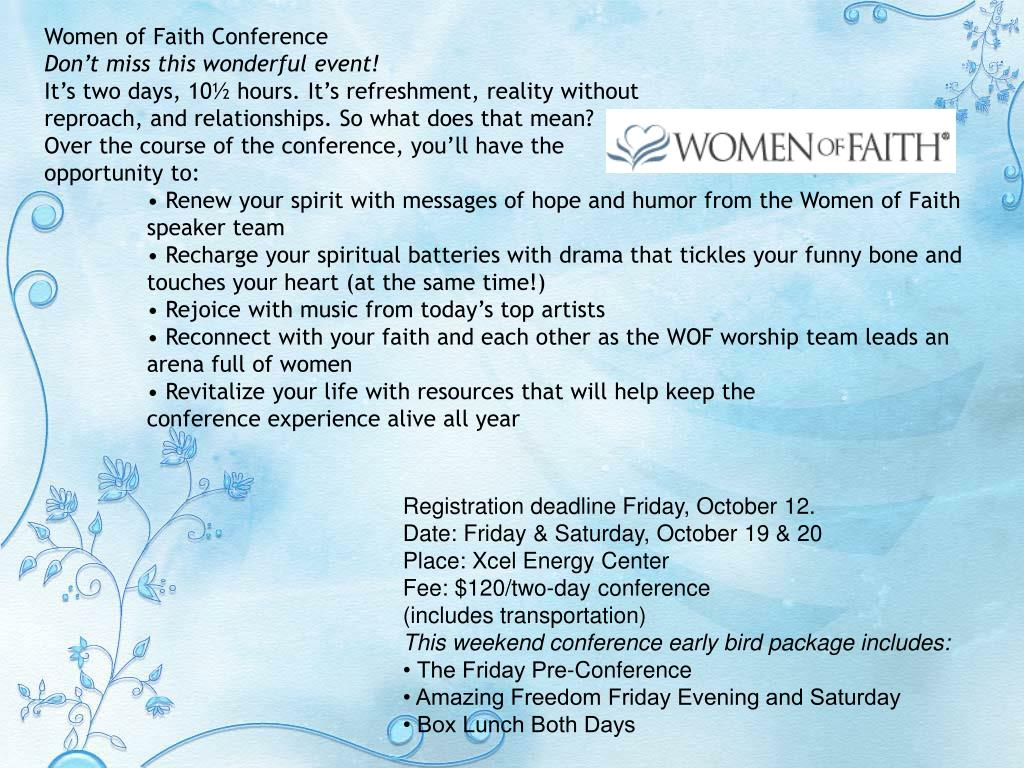 Women of Faith Conference