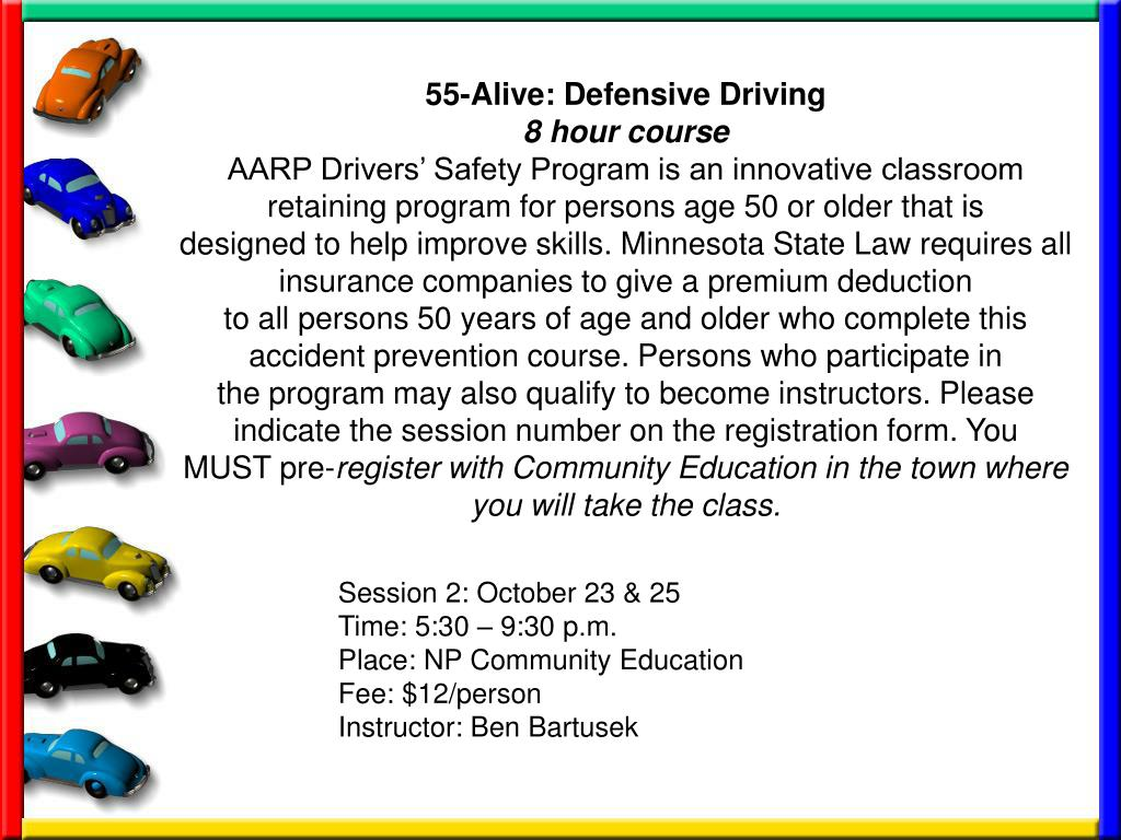55-Alive: Defensive Driving