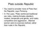 plato outside republic