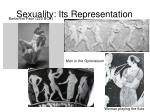 sexuality its representation