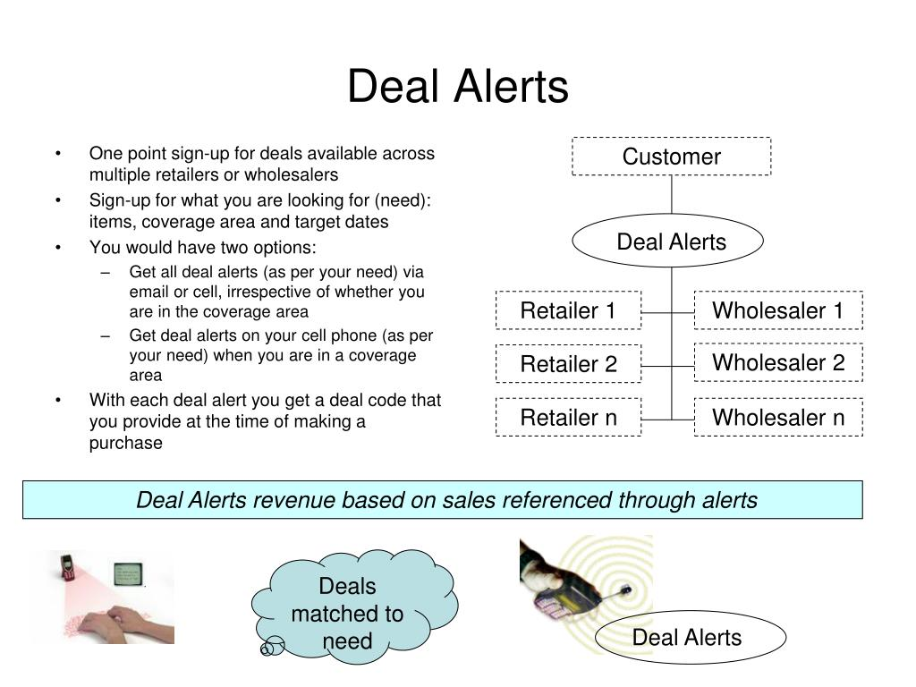 One point sign-up for deals available across multiple retailers or wholesalers