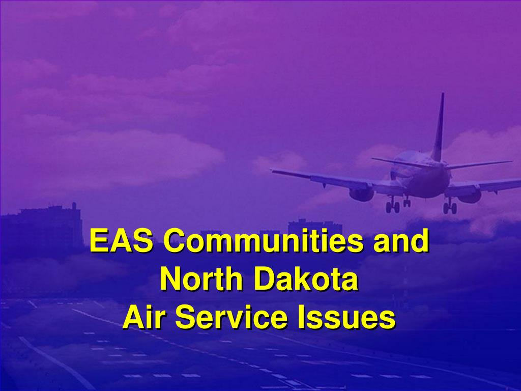 EAS Communities and