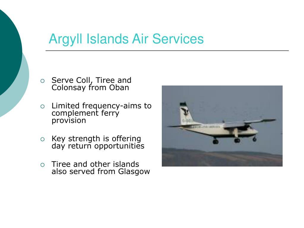 Argyll Islands Air Services
