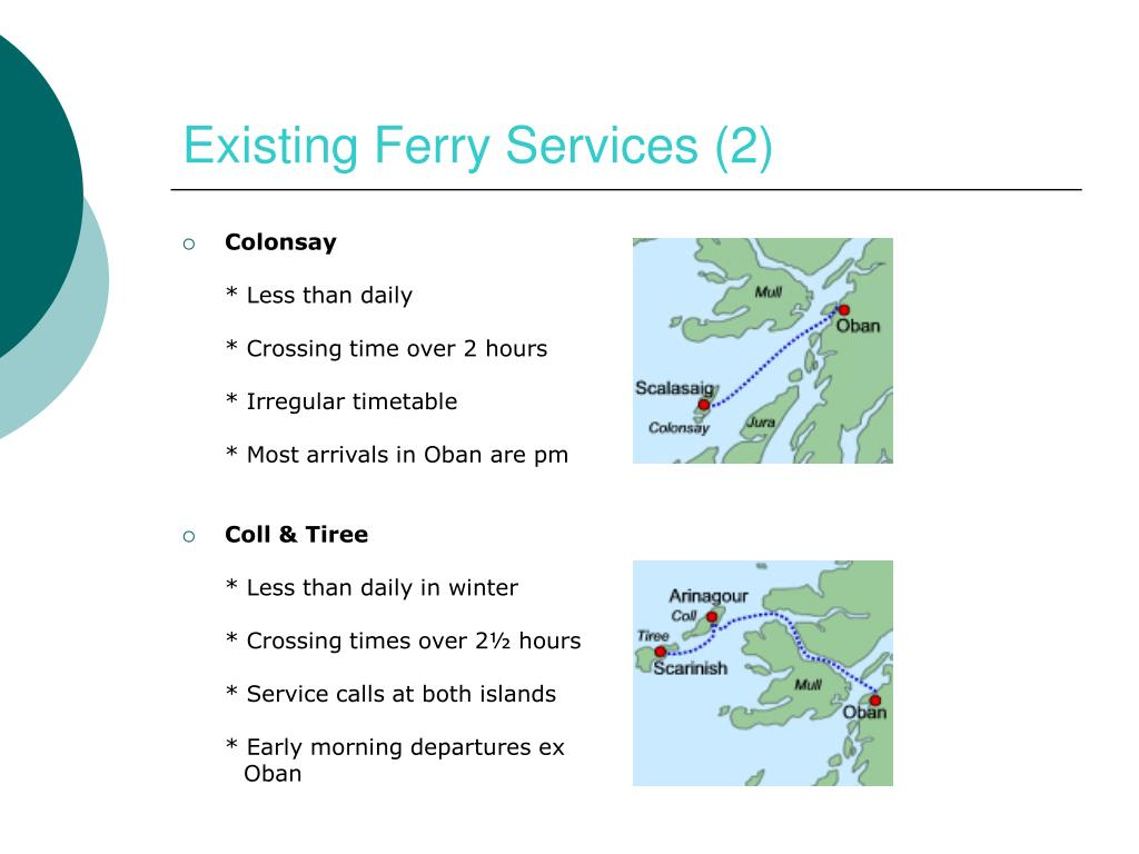Existing Ferry Services (2)