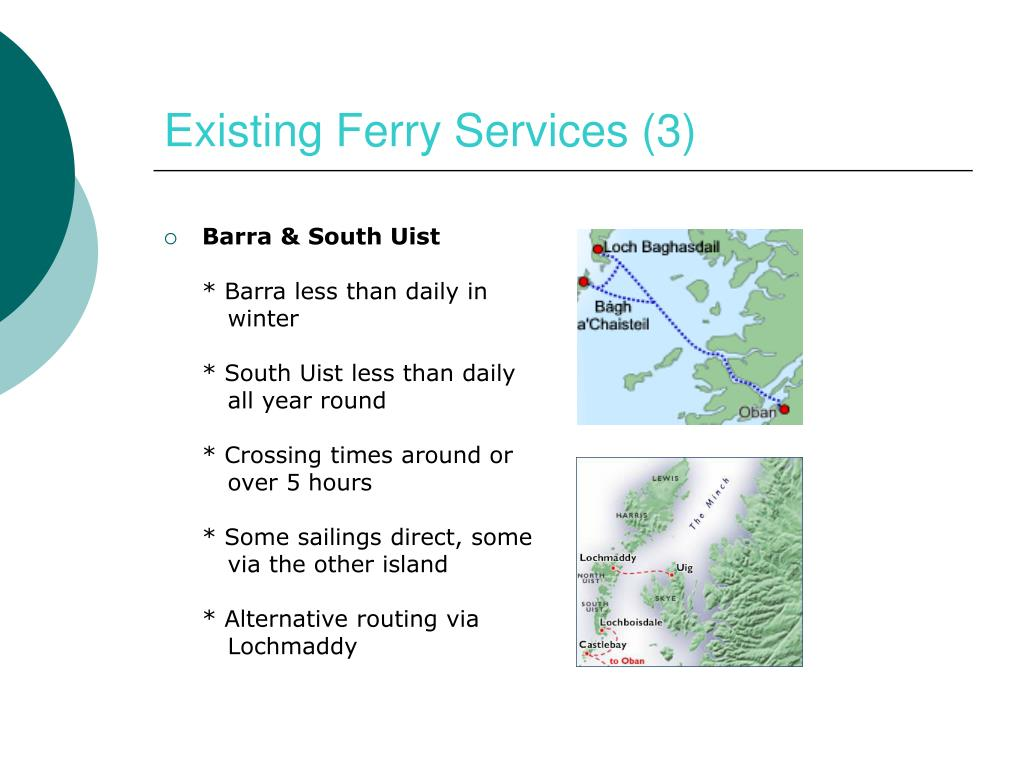 Existing Ferry Services (3)