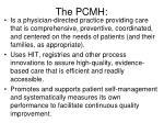 the pcmh