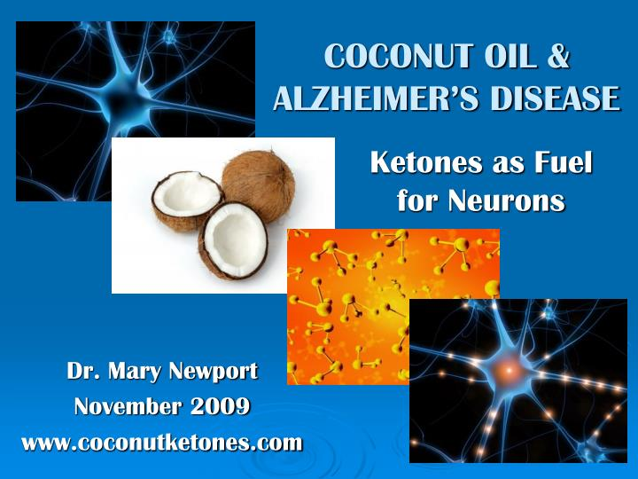 Coconut oil benefits mayo clinic alzheimer