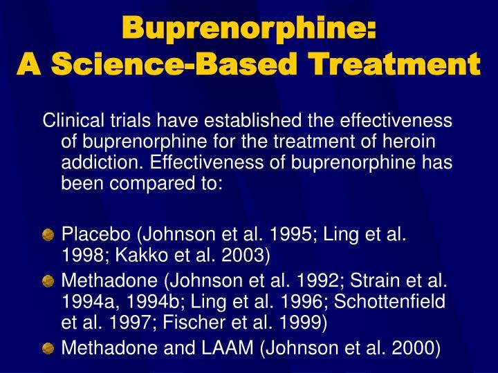 Buprenorphine: