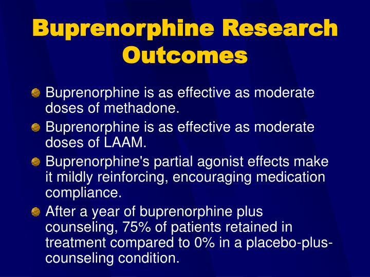 Buprenorphine Research