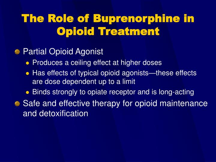 Partial Opioid Agonist