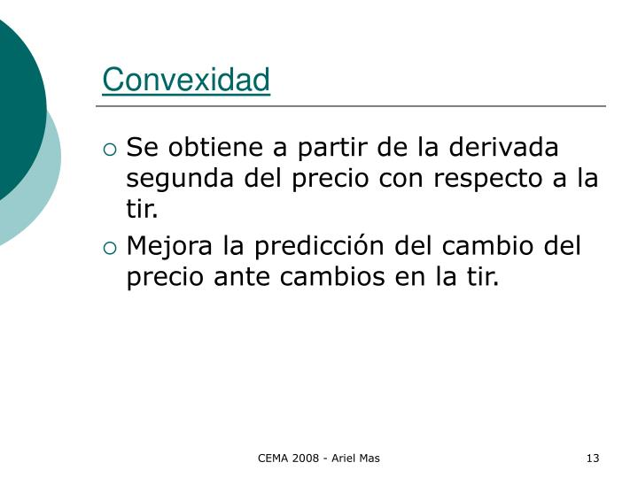 Convexidad