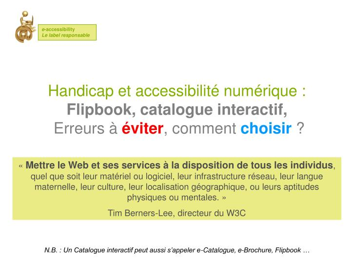 Cr ez votre pdf accessible interactif e accessibility 120267