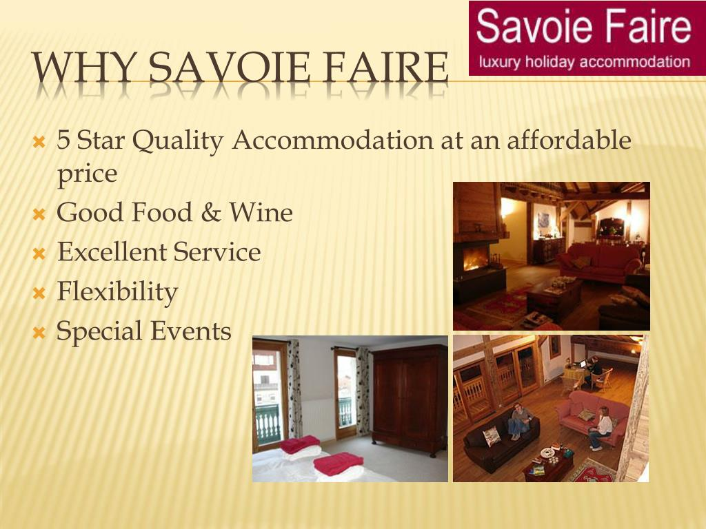 5 StarQualityAccommodation at an affordable price