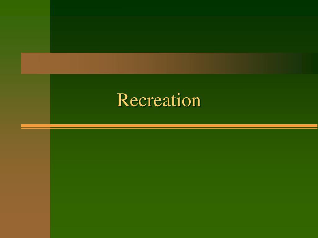 recreation l.