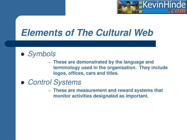 Elements Of The Cultural Web