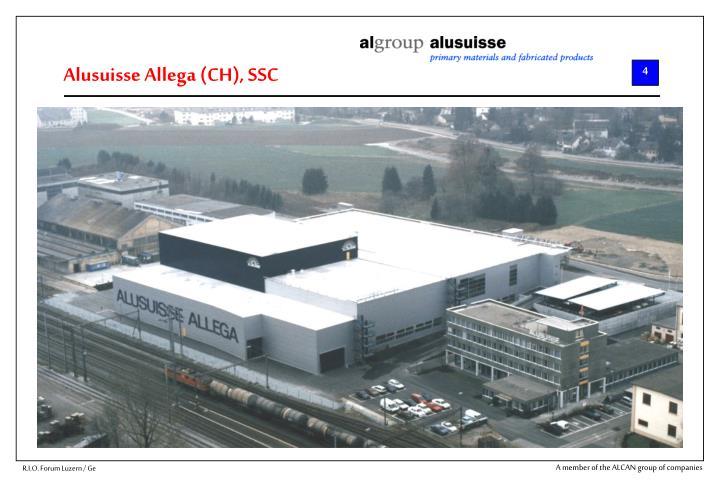 Alusuisse Allega (CH), SSC