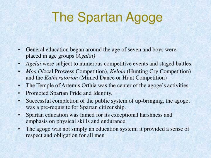 The spartan agoge