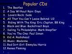 popular cds