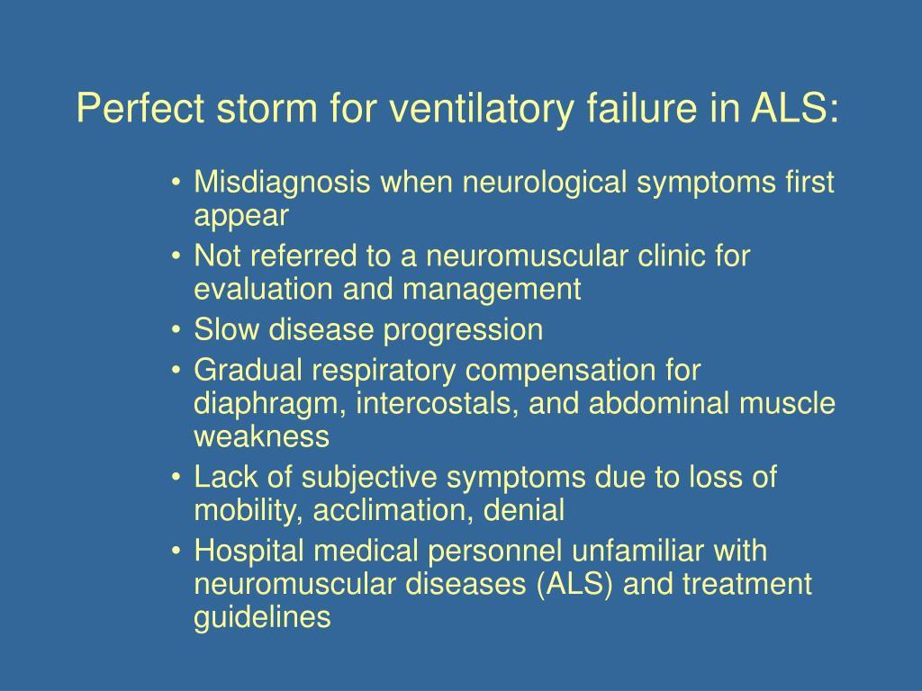 PPT - Respiratory Management of ALS: Emerging Need (2009 AAN