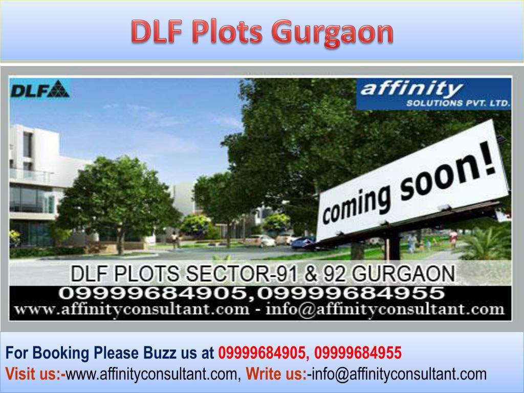 DLF Plots Gurgaon