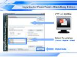 impatica for powerpoint blackberry edition