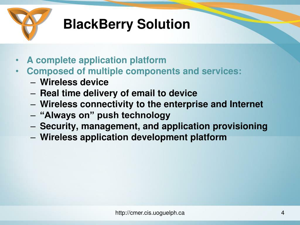 BlackBerry Solution