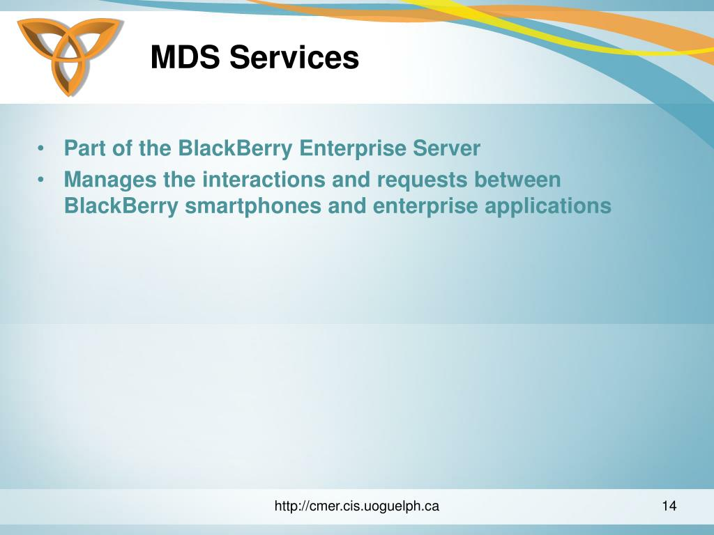 MDS Services