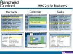 hhc 2 0 for blackberry