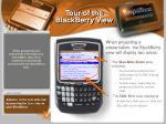 tour of the blackberry view