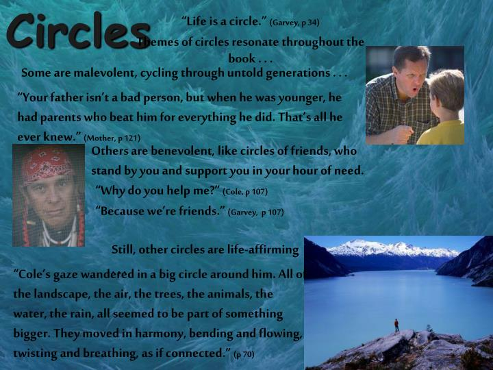 """Life is a circle."""