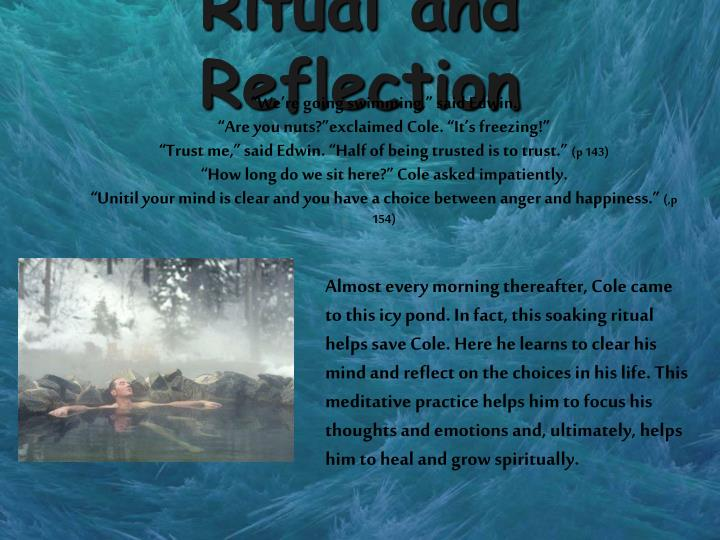 Ritual and Reflection
