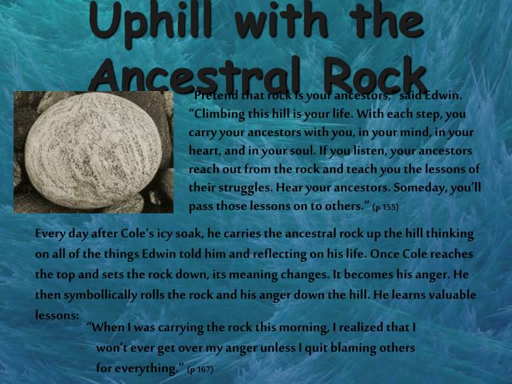 Uphill with the Ancestral Rock