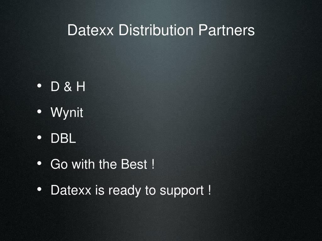 Datexx Distribution Partners