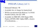 pineapl library rel 1