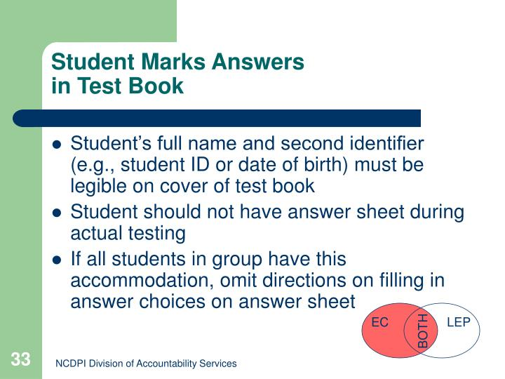 Student Marks Answers